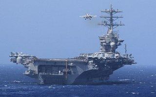 Quân sự - Đoàn công tác liên ngành Việt Nam thăm tàu sân bay USS Carl Vinson
