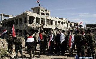 """Quân sự - """"Quân domino"""" cuối cùng của phiến quân sụp đổ ở Đông Ghouta"""
