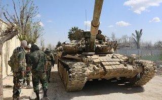 Quân sự - Pháo binh, tên lửa Syria dữ dội nã vào quân khủng bố IS ở Homs