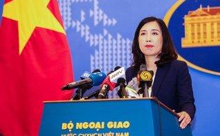 Tiêu điểm - Việt Nam lên tiếng việc Trung Quốc tập trận  ở Biển Đông