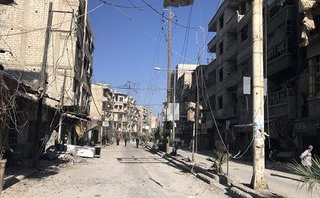 Quân sự - Syria: Phát hiện bất ngờ tại kho vũ khí của phiến quân nổi dậy ở Dumayr
