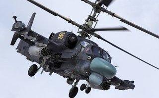 """Quân sự - Trực thăng """"cá sấu"""" Ka-52 của Nga bị bắn hạ bằng tên lửa vác vai ở Syria?"""