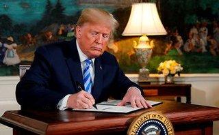 """Tiêu điểm - Rút khỏi thỏa thuận Iran, ông Trump kích hoạt """"chạy đua hạt nhân Trung Đông"""""""