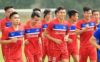 Thể thao - U22 Việt Nam chuẩn bị SEA Games 29: Trong nỗi lo chấn thương