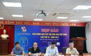 Thể thao - Giải bóng bàn cúp Hội Nhà báo Việt Nam lần thứ XI – năm 2017
