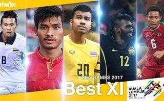 Thể thao - Đội hình tiêu biểu SEA Games 29: Sạch bóng cầu thủ Việt