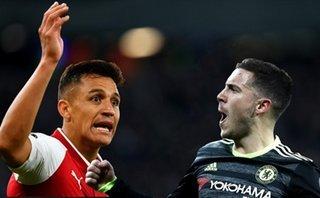 Hazard 'hạnh phúc' và Sanchez 'ủ dột' nâng tầm đại chiến Chelsea - Arsenal