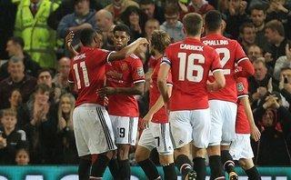 Man Utd 4-1 Burton: Martial mới là người xuất sắc nhất