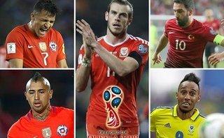Thể thao - Bale, Sanchez và những siêu sao chính thức lỡ hẹn với VCK World Cup 2018
