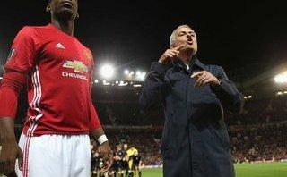 Bóng đá Quốc tế - Mourinho phát cáu khi được hỏi về Paul Pogba