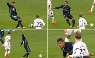 Bóng đá Quốc tế - Clip: Casemiro 'bỗng nhiên' ngã trong trận Tottenham 3-1 Real Madrid