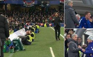 Bóng đá Quốc tế - Conte tránh bắt tay Mourinho: 'Chỉ cần tôn trọng trên sân cỏ'