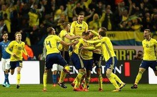 Bóng đá Quốc tế - Clip: Thua Thụy Điển, Italia đối diện nguy cơ ngồi nhà xem World Cup