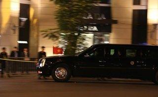 Tin tức - Chính trị - [Chùm ảnh] Đoàn xe đưa Tổng thống Trump đi dự quốc yến