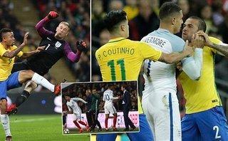 Bóng đá Quốc tế - Clip: Đức hòa Pháp kịch tính, Anh tử thủ trước Brazil