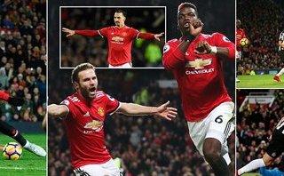 Man Utd 4-1 Newcastle: Martial, Rashford không thể đá cùng nhau
