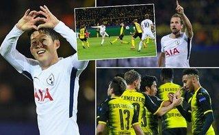 Tottenham tiễn Dortmund xuống Europa League, đẩy Real vào thế khó