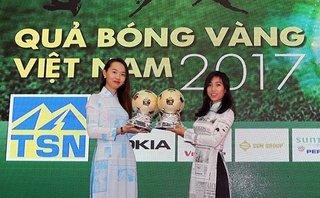 Bóng đá Việt Nam - Quả bóng vàng Việt Nam 2017: Lại 'so bó đũa' như mọi năm