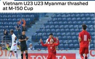 U23 Việt Nam thắng đậm, người Thái mỉa mai, báo nước ngoài ca ngợi