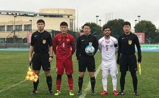 Bóng đá Việt Nam - Đức Chinh ghi bàn, U23 Việt Nam hòa U23 Palestine