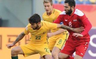Bóng đá Việt Nam - Clip: U23 Australia phô diễn sức mạnh, đè bẹp U23 Syria