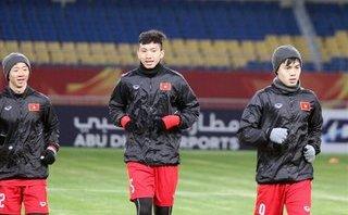 Bóng đá Việt Nam - Tình hình sức khỏe của Văn Hậu, Tiến Dũng trước trận gặp U23 Iraq