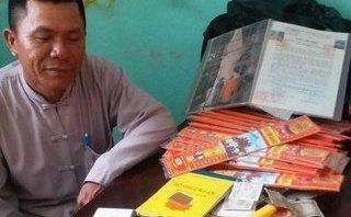 An ninh - Hình sự - Lập hồ sơ xử lý đối tượng giả thầy chùa để lừa đảo chiếm đoạt tiền