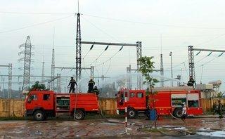 Tiêu dùng & Dư luận - Cháy trạm biến áp cấp điện cho Samsung Việt Nam