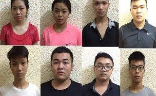 Pháp luật - Hà Nội: Bắt 8 'quái xê' gây náo loạn trong đêm