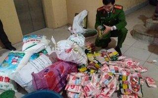 An ninh - Hình sự - Nam Định: Triệt phá cơ sở làm mì chính giả với số lượng lớn