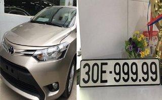 Tiêu dùng & Dư luận - Giật mình chiếc Toyota Vios biển 30E-999.99 vừa được bán với giá 'siêu khủng'