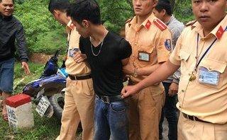 An ninh - Hình sự - Sơn La: CSGT bắt giữ đối tượng trộm xe máy chạy tốc độ cao