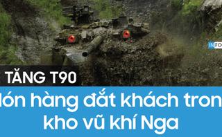 Quân sự - INFOGRAPHIC: Uy lực xe tăng T-90 của Nga khiến đối phương lạnh gáy