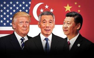 Tiêu điểm - Đứng giữa 'đại bàng' và 'rồng', tương lai khó chọn của 'sư tử' Singapore