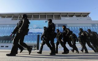 Tiêu điểm - Lá chắn an ninh 'con kiến khó lọt' chào đón Triều Tiên đến Hàn Quốc