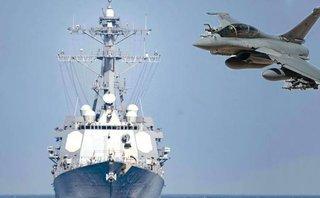 Tiêu điểm - Khu trục Mỹ, tiêm kích Pháp, tàu ngầm Anh tạo 'mũi đinh ba' tấn công Syria?