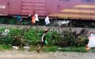 Điểm nóng - Phạt hành chính 3 triệu đồng người treo rác lên tàu 'gửi đi Sài Gòn'