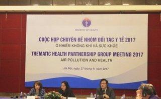 Kết nối- Chính sách - Phối hợp đa ngành giảm tác động ô nhiễm không khí đến sức khỏe.