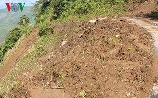 Kết nối- Chính sách - Khắc phục các điểm sạt lở đất đá ở miền núi Quảng Ngãi