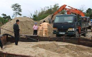 Điểm nóng - Liên tiếp phát hiện tàu sắt hút cát trái phép trên sông Thu Bồn