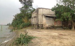 Điểm nóng - Quảng Bình: Mất nhà, đất canh tác vì sạt lở bờ sông quá nhanh
