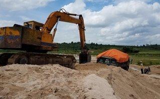 Điểm nóng - Chư Păh (Gia Lai): Nóng tình trạng khai thác cát trái phép