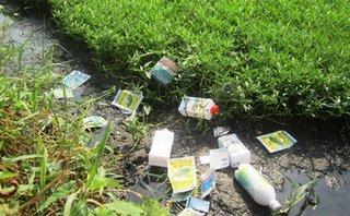 Điểm nóng - Nguy cơ ô nhiễm môi trường do sử dụng thuốc diệt cỏ tràn lan