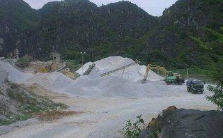 Điểm nóng - Ninh Bình: Nhiều doanh nghiệp vi phạm trong khai thác, sử dụng đá vôi