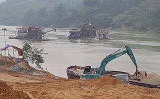 Điểm nóng - Tuyên Quang: Núp bóng làm thuỷ điện, doanh nghiệp tận thu trái phép 150.000m3 cát sỏi?