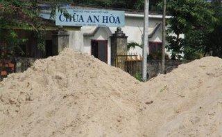 """Điểm nóng - Bình Định: Sông La Vỹ bị cày xới bởi """"cát tặc"""""""