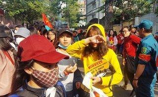 An ninh - Hình sự - Nhiều người bị móc túi khi chờ được gặp U23 Việt Nam
