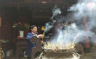 Môi trường - Hà Nội: Khảo sát thực tế việc đốt vàng mã tại các đền, chùa