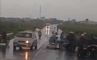 Chính trị - Xã hội - Hải Dương: Đi xe máy dưới trời mưa to, người phụ nữ bị sét đánh tử vong