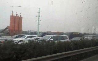 Xa lộ - Ùn, tắc trên tuyến đường Pháp Vân ngày 28 Tết